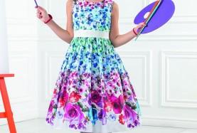 Нарядные платья для девочек Perlitta>