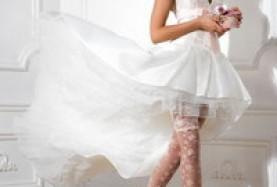 Новинки - свадебные чулки и колготки>