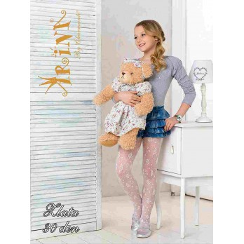 Детские колготки для девочек Arina Millionare ZLATA 30