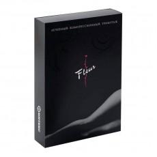 Компрессионные чулки Интекс Fleur с ажурной силиконовой резинкой 2 класс компрессии 2 рост арт. ФЧЖ-2р2к, цвет черный