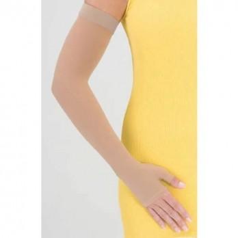Компрессионный рукав с полуперчаткой и резинкой на силиконовой основе mediven Armsleeve широкий 2 класс компрессии арт. 759A