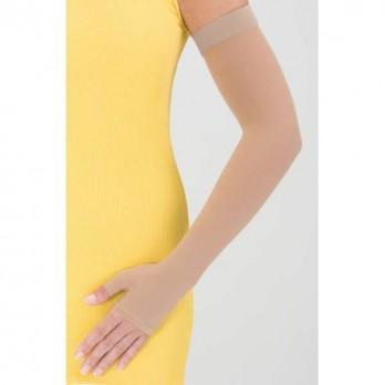 Компрессионный рукав с полуперчаткой и силиконовой резинкой удлинённой длины mediven ESPRIT 2 класс компрессии арт. J26