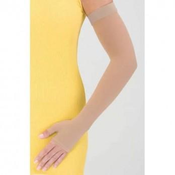 Компрессионный рукав с полуперчаткой и резинкой на силиконовой основе mediven Armsleeve широкий 1 класс компрессии арт. 755A