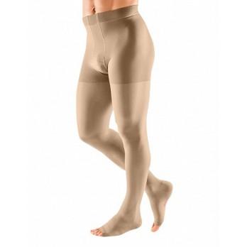 Компрессионное мужское трико mediven plus 2 класса компрессии с открытым носком (AG-62-71 см) арт. 216, цвет черный