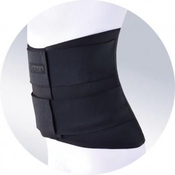 Корсет пояснично-крестцовый с 4 моделируемых ребрами жесткости высотой 32см. ОRТО арт. КПК-110, цвет черный