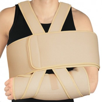 Повязка медицинская поддерживающая для фиксации руки усиленная Тонус Эласт арт. ELAST 0110-01