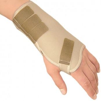 Повязка медицинская эластичная лучезапястная с жёсткой вставкой Тонус Эласт арт. ELAST 0210 для правой руки