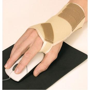 Повязка медицинская эластичная лучезапястная с жёсткой вставкой Тонус Эласт арт. ELAST 0210 для левой руки