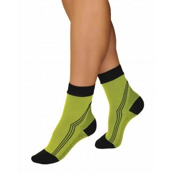 Компрессионные носки Тонус Эласт 1 класс компрессии 2 рост арт. ELAST 0406 Active, цвет серо-черный