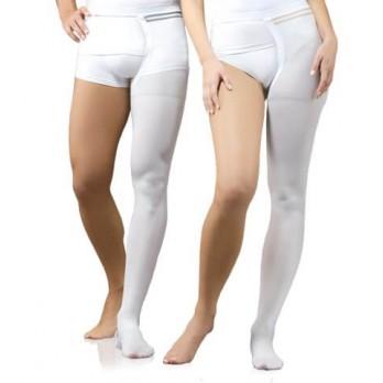 Антиэмболический моночулок медицинский компрессионный Тонус Эласт 1 класс компресии левый арт. 0403-01-Hospital, цвет белый